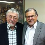 Joseph Shulam (ISRAEL – diretor da ABRADJIN) e Marcelo Miranda Guimarães (Brasil – Presidente/Fundador da ABRADJIN).