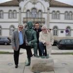 Diretores da ABRADJIN em visita à cidade de Trancoso – Portugal.