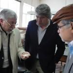 Os diretores da ABRADJIN são recebidos pelo prefeito de Castelo de Vide, o Sr. Antônio Pita. O Sr. Pita presenteia os diretores da ABRADJIN com artefatos judaicos medievais encontrados na cidade. Os artefatos são parte do acervo do Museu da Inquisição, em Belo Horizonte.