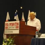 Palestra especial do ex-presidente de Israel, Sr. Itzhak Navon.