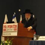 Palestra especial do rabino chefe de Israel, Israel Meir Lau.