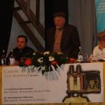 Matheus Zandona, Joseph Shulam e Marcelo M. Guimarães, diretores da ABRADJIN. Abertura da 1º Conferência Internacional sobre os Anussim – Castelo de Vide – Portugal.