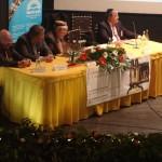 Mesa diretora da Conferência, com presença do Prefeito de Castelo de Vide, Sr. Antônio Pita, e do vice-prefeito, o Sr. Carolino Tapadejo.