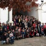 Grupo da ABRADJIN no antigo Pátio da Inquisição – Coimbra – Portugal.
